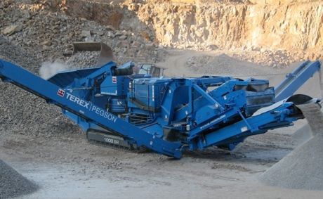 HIGH PRODUCTION CRUSHING AND SCREENING EQUIPMENT